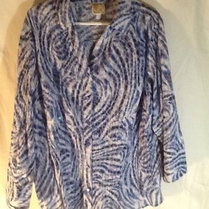J M / Collection Size 20W / 3/4 Sleeve Blouse